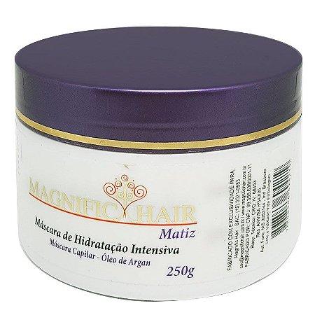 Magnific Hair - Máscara Matiz Hidratação Intensiva e Matização 250g