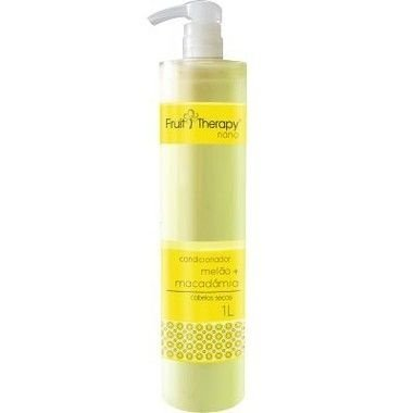 Left - Fruit Therapy Nano Melão Condicionador Cabelos Secos 1000 ml
