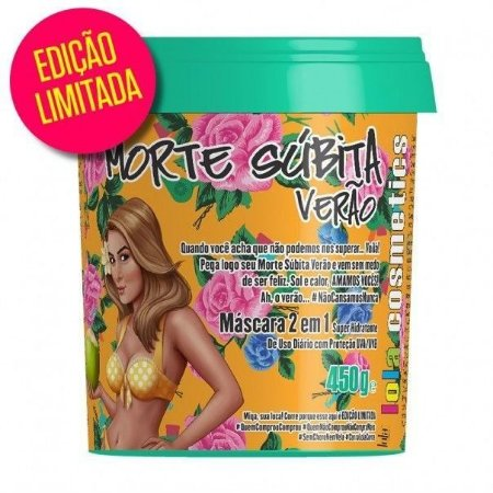 Lola Cosmetics - Morte Súbita de Verão Máscara Super Hidratante 450g