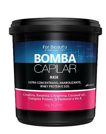 For Beauty - Bomba Capilar Máscara Reconstrução 1kg