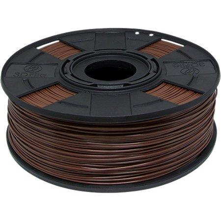 Filamento ABS Premium+ 1,75mm Marrom Chocolate