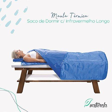 Manta Térmica Naturela Saco de Dormir c/ Infravermelho Longo e Controle SMART 2,00x1,65m