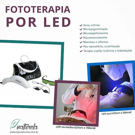 Aparelho Fototerapia por LED Vitality bivolt