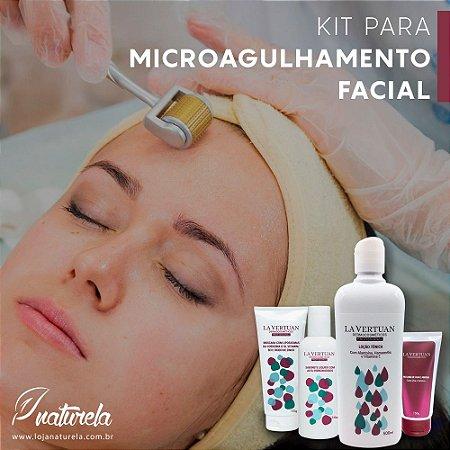 Kit Profissional para Microagulhamento Facial