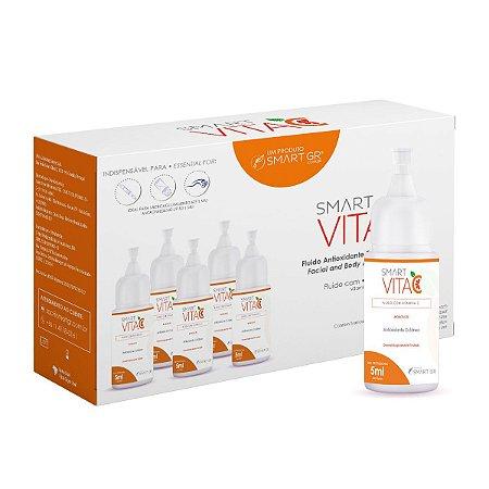 Smart Vita C Antioxidante Cutâneo - 5 Monodoses de 5ml