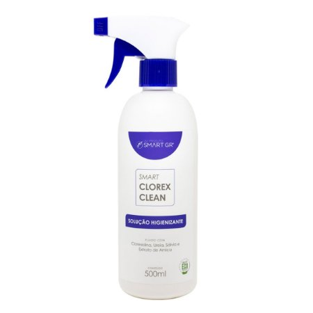 Smart Clorex Clean - Solução Higienizante c/ Clorexidina 500ml