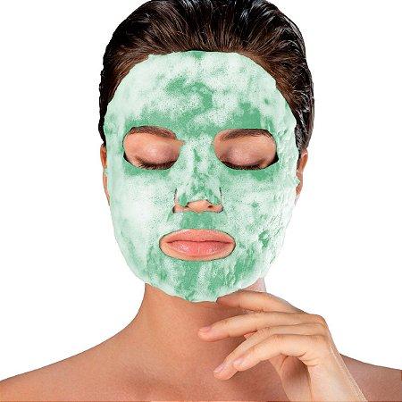 Máscara Facial Superfood Bubble O² Chá Verde