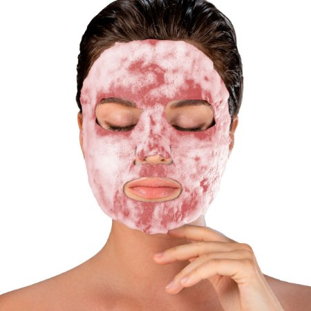 Máscara Facial Superfood Bubble O² Pêssego