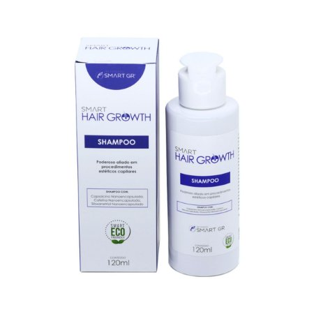 Smart Hair Growth Shampoo - Terapia Capilar - 120ml