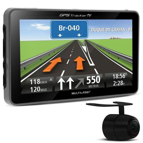 GPS TRACKER COM TV 4,3 MULTILASER GP035