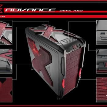 GABINETE GAMER STRIKE X ADVANCE AEROCOOL