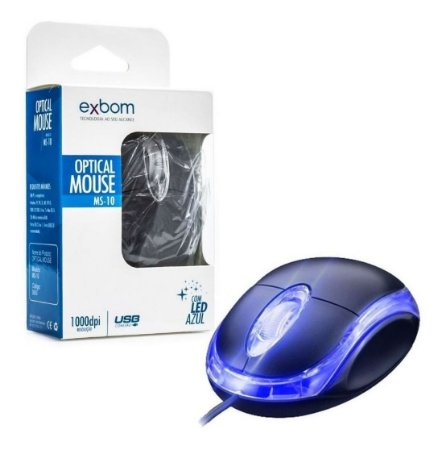 MOUSE EXBOM MS-10 DPI 1000