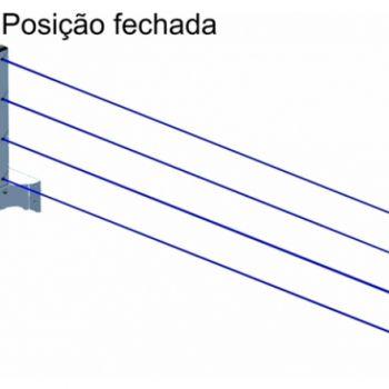 VARAL DE PAREDE RETRATIL AVATRON VAR-4000
