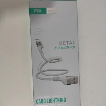 CABO USB LIGHTNING FAM FCA-R512