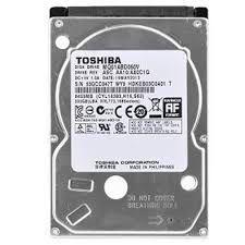 HD INTERNO NOTEBOOK 2.5' 500GB TOSHIBA