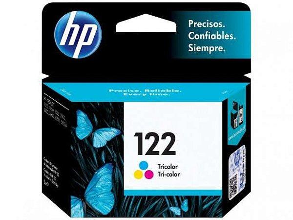 CARTUCHO DE TINTA HP 122 TRICOLOR ORIGINAL CH562HB