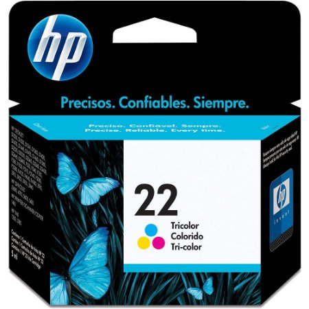 CARTUCHO DE TINTA HP 22 TRICOLOR ORIGINAL C9352AB