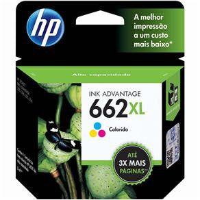 CARTUCHO DE TINTA HP 662XLTRICOLOR ORIGINAL CZ106AB