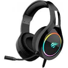 HEADSET GAMER HAVIT H2232D RGB PRETO
