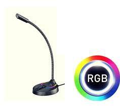 MICROFONE GAMER RBG HAVIT GK55