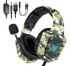 HEADSET GAMER ONIKUMA K8 - PS4/XBOX ONE/PC/ANDROID/IOS -VERDE