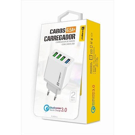 CARREGADOR TURBO 4 SAIDAS TIPO-C SX-F8-CMAX SUMEXR