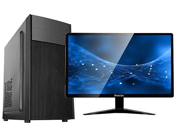 DESKTOP SULAMERICA HOME OFFICE INTEL CORE I3 SSD120 4GB C/ MONITOR 19
