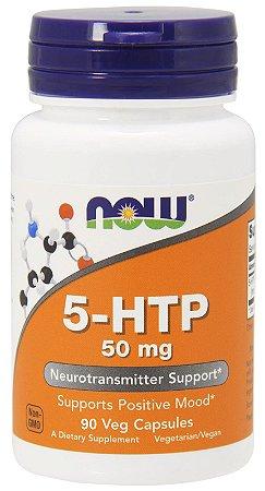 5-HTP 50 mg - Now Foods - 90 cápsulas