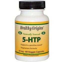 5-HTP 50 mg - Healthy Origins - 60 cápsulas