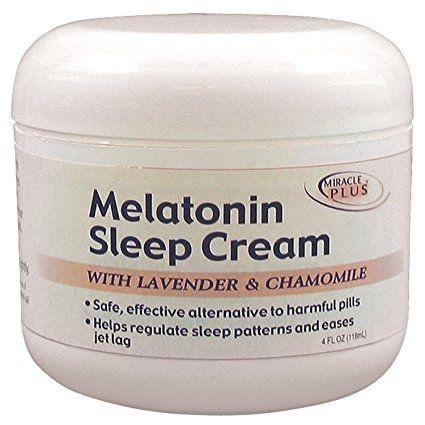 Comprar Melatonina em Creme - Miracle Plus - 120 ml (113 g) (hormônio do sono)