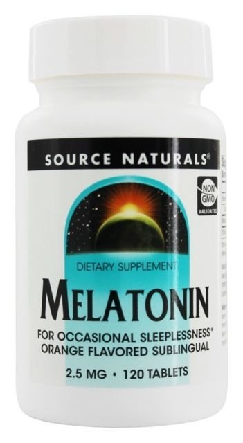 Comprar Melatonina 2,5 mg sabor Laranja- Life Extension - 120 comprimidos (hormônio do sono)