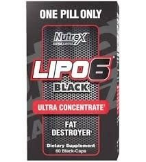 Lipo 6 Black Ultraconcentrado Nutrex 60 cápsulas - O Original!