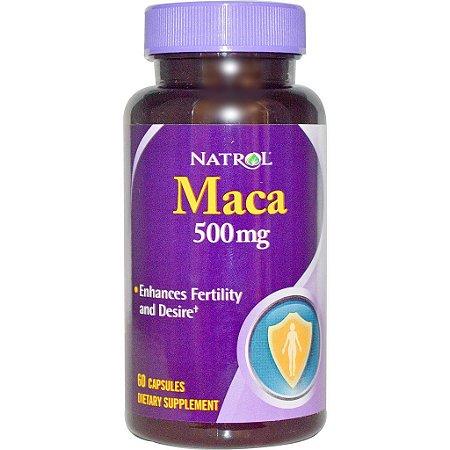 Maca - 500 mg - Natrol - 60 cápsulas