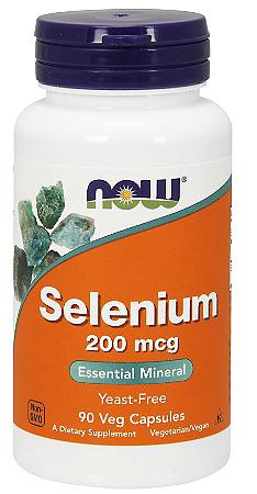 Selênio 200 mcg - Now Foods - 90 Cápsulas