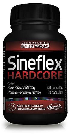 Sineflex Hardcore- Pesquisas avançadas - 150 cápsulas
