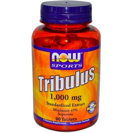 Tribulus Terrestris 1000 mg com 45 % saponinas - Now Foods - 90 comprimidos