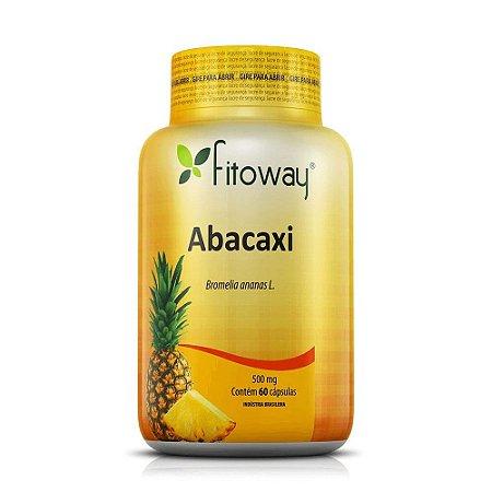 Abacaxi Fitoway 500mg - 60 Cápsulas