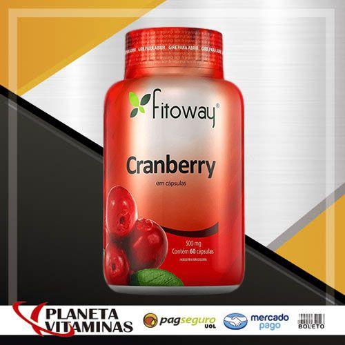 Cranberry Fitoway 500mg - 60 Cápsulas