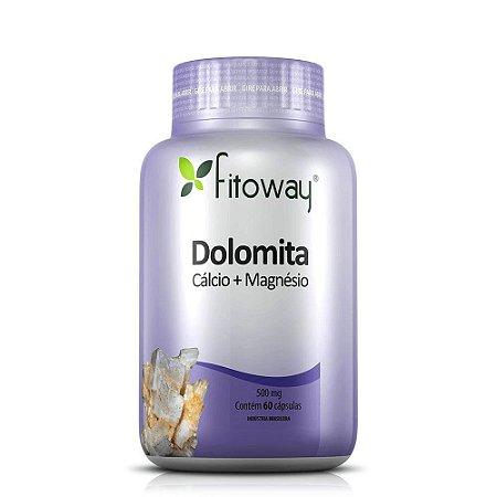 Dolomita Fitoway 500mg - 60 Cápsulas