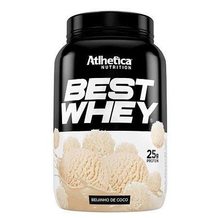 Best Whey - Sabor Beijinho de Coco - Atlhetica Nutrition 900