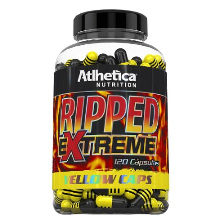 Ripped Extreme Yellow 120 Cáps - Atlhetica Nutrition