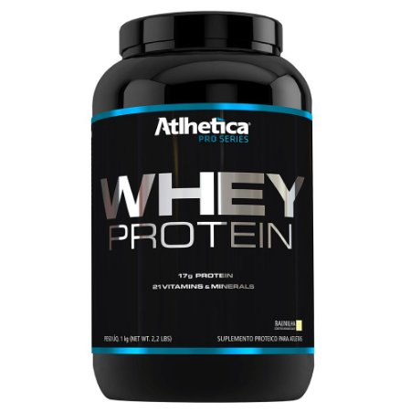 Whey Protein Pro Series 1 Kg- Sabor Baunilha - Atlhetica Nut