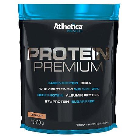 Protein Premium Pro Series 850g - Sabor Chocolate - Atlhetic