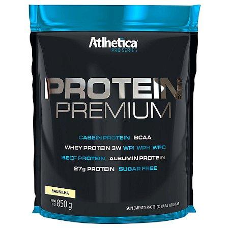 Protein Premium Pro Series 850g - Sabor Baunilha - Atlhetica