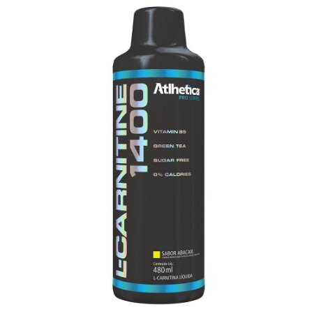 L-Carnitine 1400- Sabor Abacaxi - Atlhetica Nutrition 480 ml