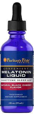 Comprar Melatonina líquida 1 mg  - Puritan's Pride - 59 ml (hormônio do sono)