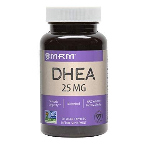 Comprar DHEA 25 mg  - MRM - 90 cápsulas