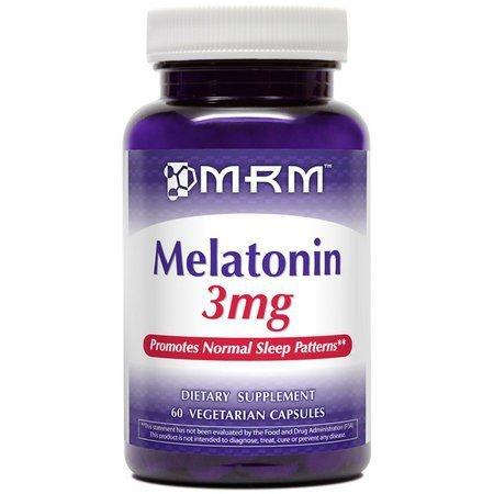 Melatonina 3 mg - MRM - 60 Cápsulas (hormônio do sono) (Envio Internacional)