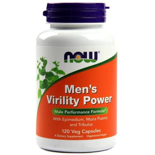 Men´s Virility Power - Now Foods - 60 cápsulas (Envio Internacional)