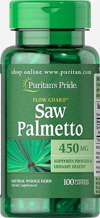 Saw Palmetto Puritan´s Pride - 450 mg - 100 cápsulas